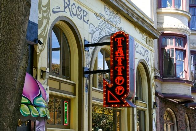 rose n gold tatoo parlor